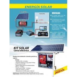KIT CERCA ELECTRICA SOLAR